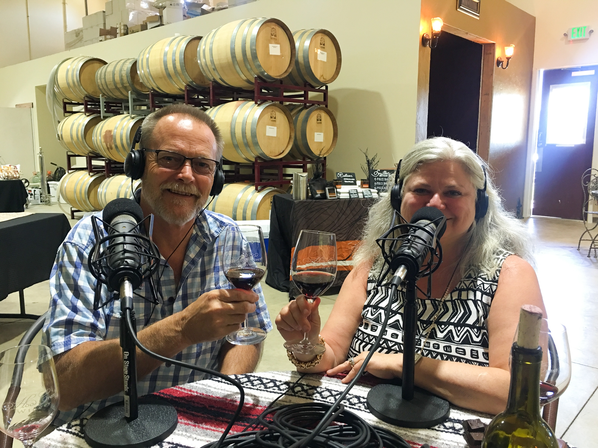 Tess and Patrick Barr Founders of Hood Crest Winery Portland Culinary Podcast Episode 7