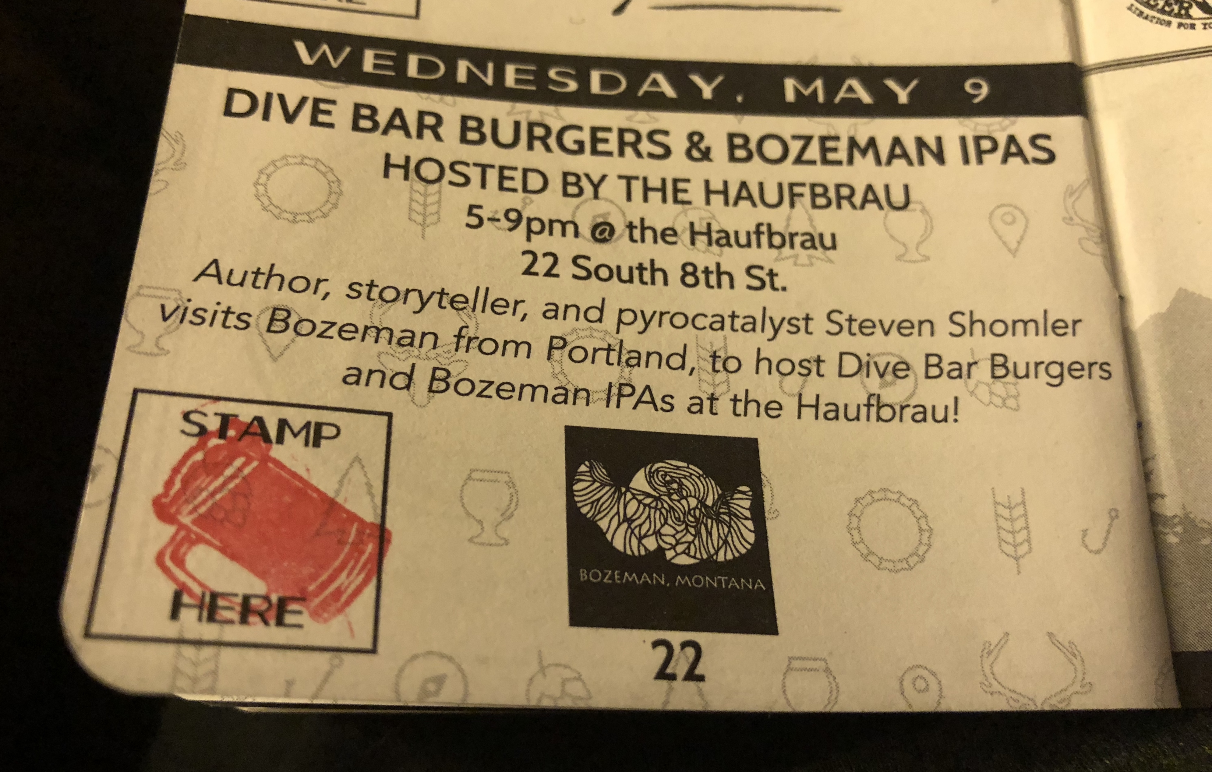 Don Frye Haufbrau House Dive Bar – Portland Culinary Podcast Episode 41 by Steven Shomler