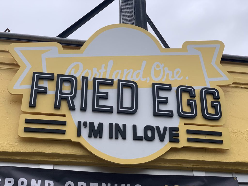 Jace Krause Fried Egg I'm In Love – Portland Culinary Podcast Episode 50