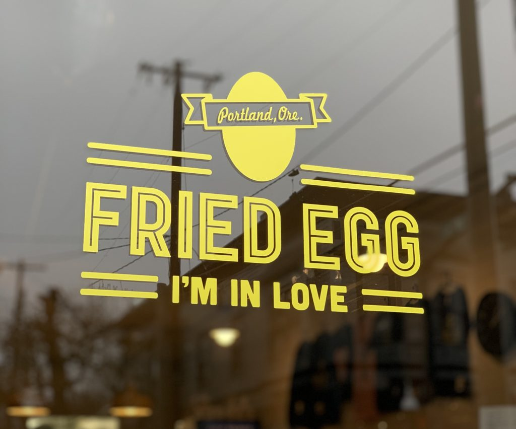 Jace Krause Fried Egg I'm In Love – Portland Culinary Podcast Episode 50 by Steven Shomler